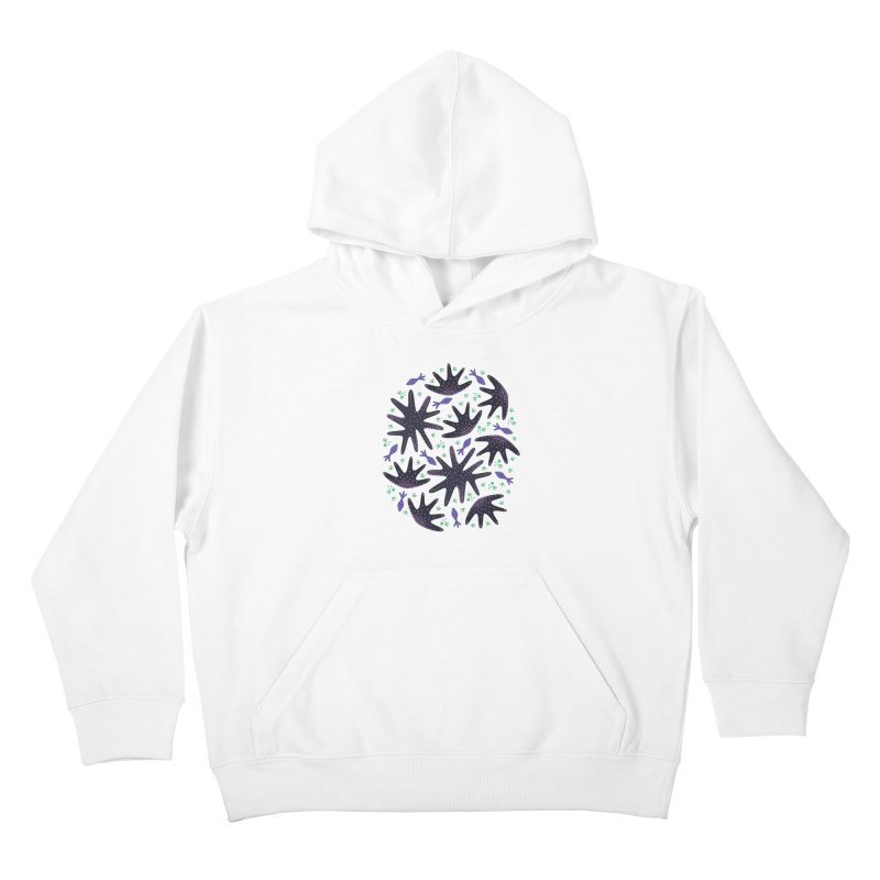 Star Fish Kids Pullover Hoody by Kira Seiler