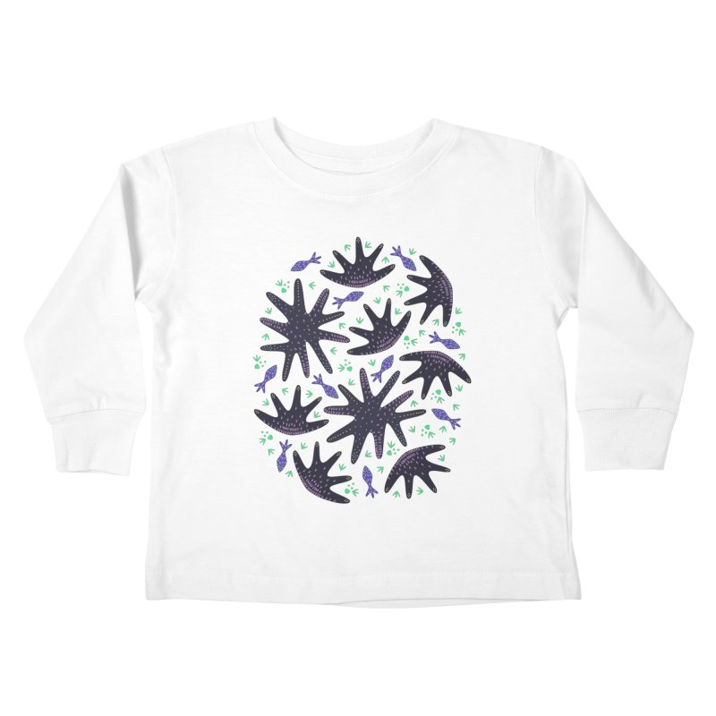 Star Fish Kids Toddler Longsleeve T-Shirt by Kira Seiler