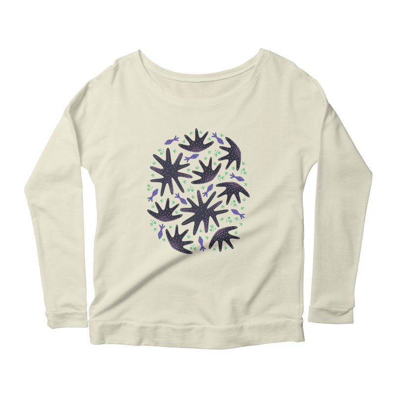 Star Fish Women's Longsleeve Scoopneck  by Kira Seiler