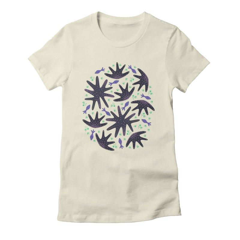 Star Fish Women's Fitted T-Shirt by Kira Seiler