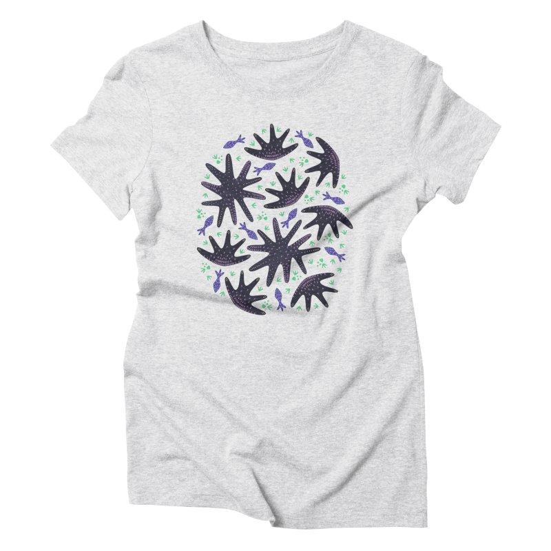 Star Fish Women's Triblend T-shirt by Kira Seiler