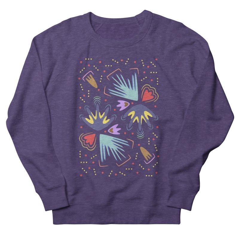 Neon Tropics Men's Sweatshirt by Kira Seiler