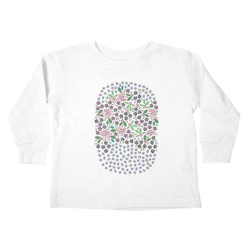 Rowan Berries Kids Toddler Longsleeve T-Shirt by Kira Seiler