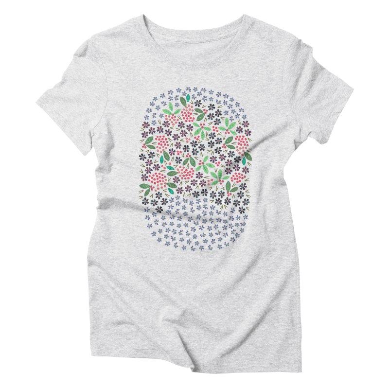Rowan Berries Women's Triblend T-shirt by Kira Seiler