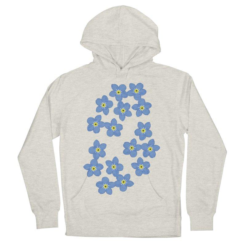 Myosotis Men's Pullover Hoody by Kira Seiler