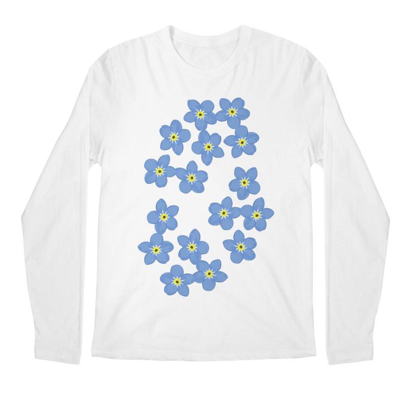Myosotis Men's Longsleeve T-Shirt by Kira Seiler