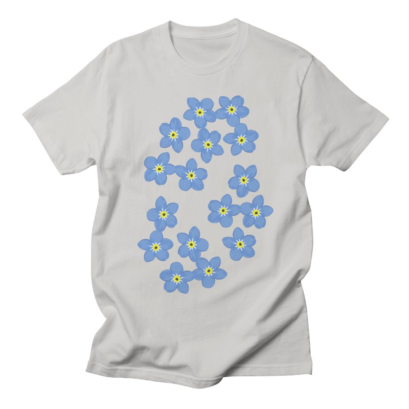 Myosotis Men's T-shirt by Kira Seiler