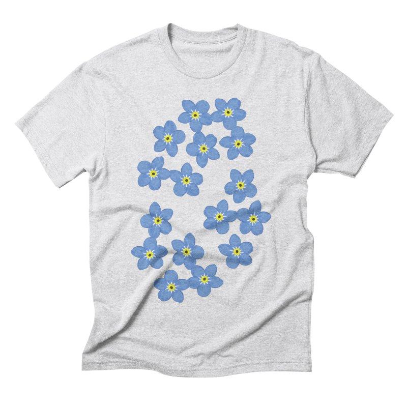 Myosotis Men's Triblend T-shirt by Kira Seiler