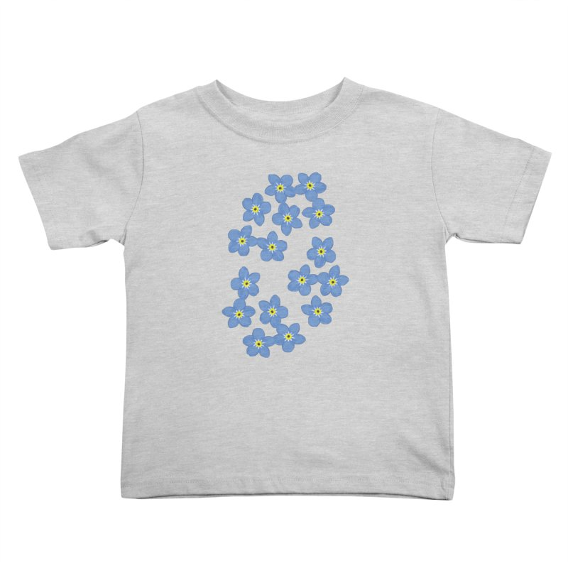 Myosotis Kids Toddler T-Shirt by Kira Seiler