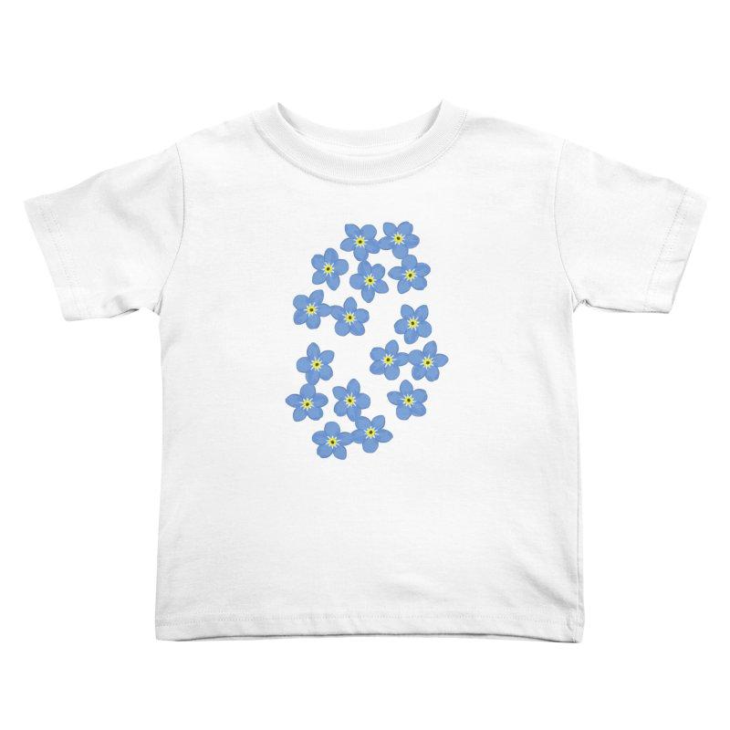 Myosotis Kids Toddler T-Shirt by Kira Seiler