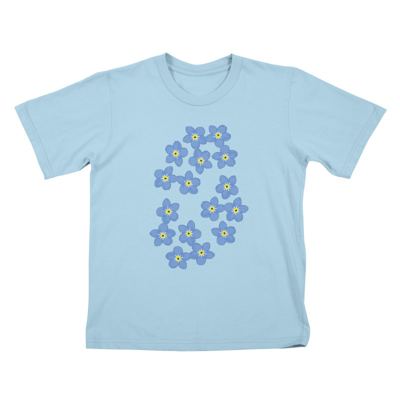 Myosotis Kids T-shirt by Kira Seiler