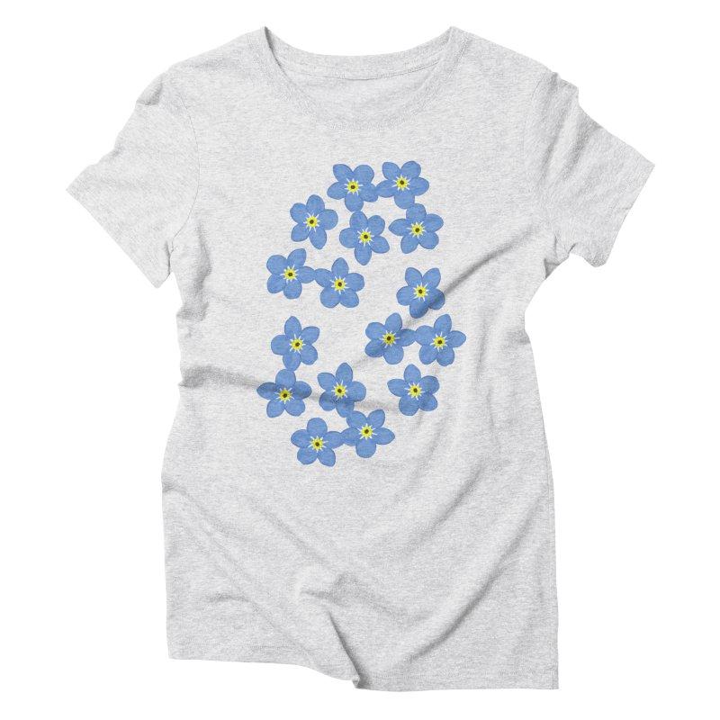 Myosotis Women's Triblend T-shirt by Kira Seiler