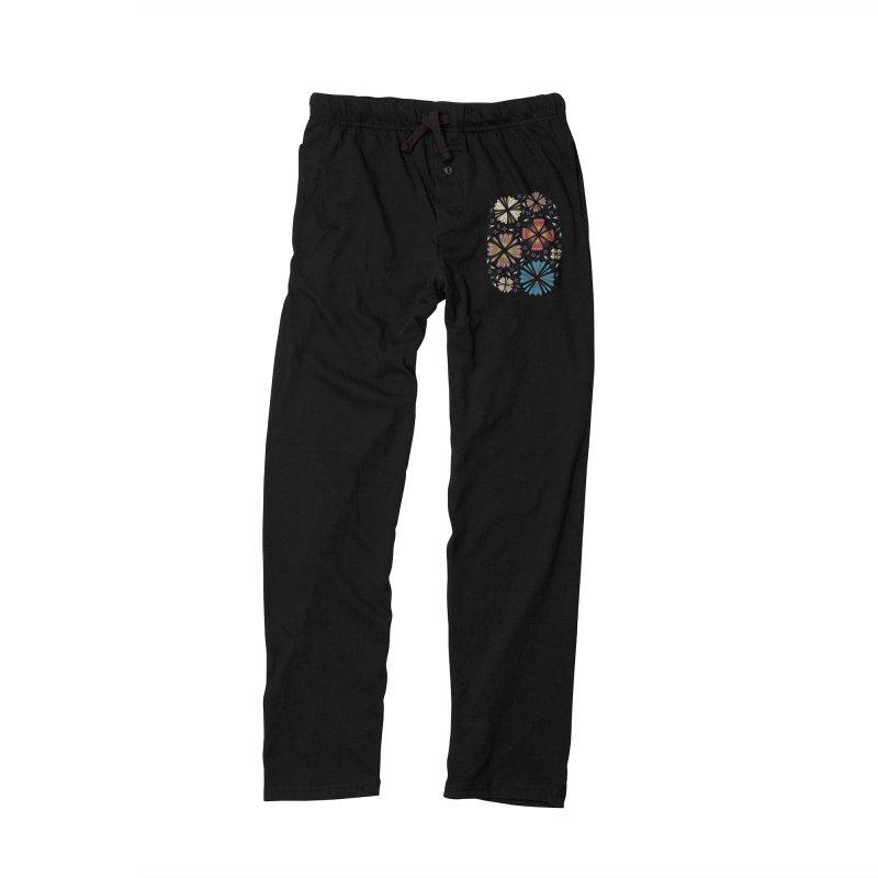 Flower Field dark Women's Lounge Pants by Kira Seiler