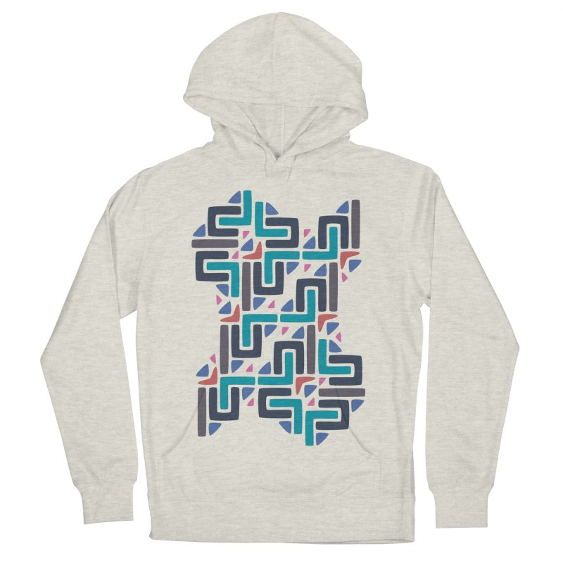 Chinese Knots Men's Pullover Hoody by Kira Seiler