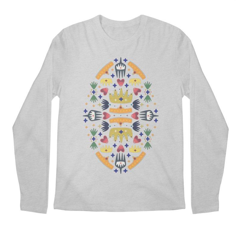 Crown Folk Men's Longsleeve T-Shirt by Kira Seiler