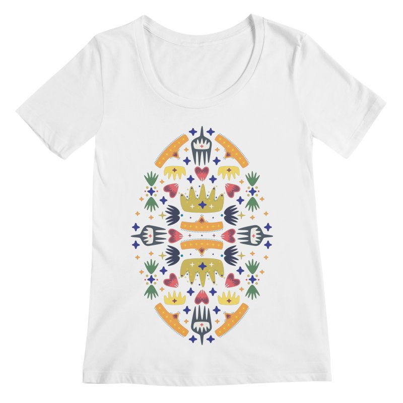 Crown Folk Women's Scoopneck by Kira Seiler