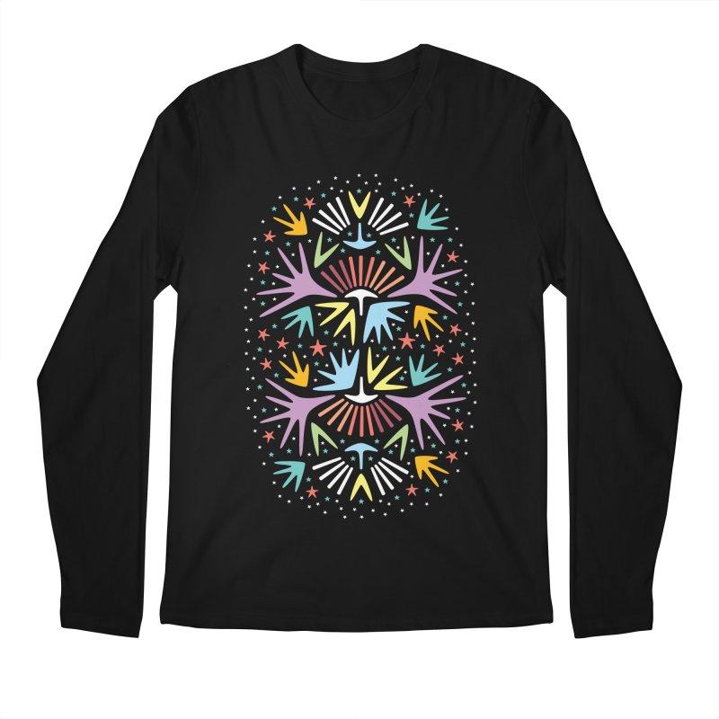 Miami Nights Men's Regular Longsleeve T-Shirt by Kira Seiler