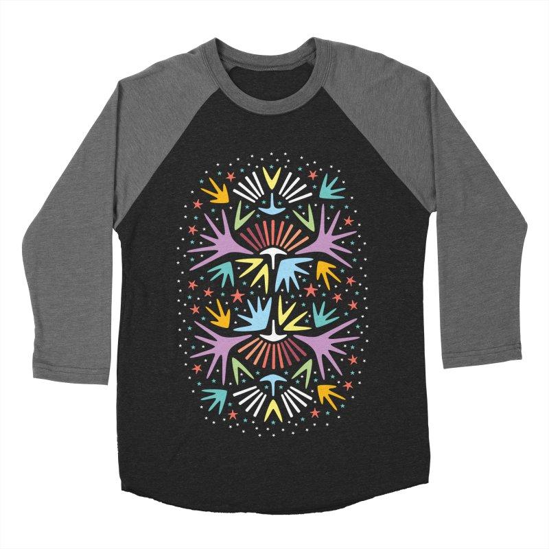 Miami Nights Women's Baseball Triblend T-Shirt by Kira Seiler