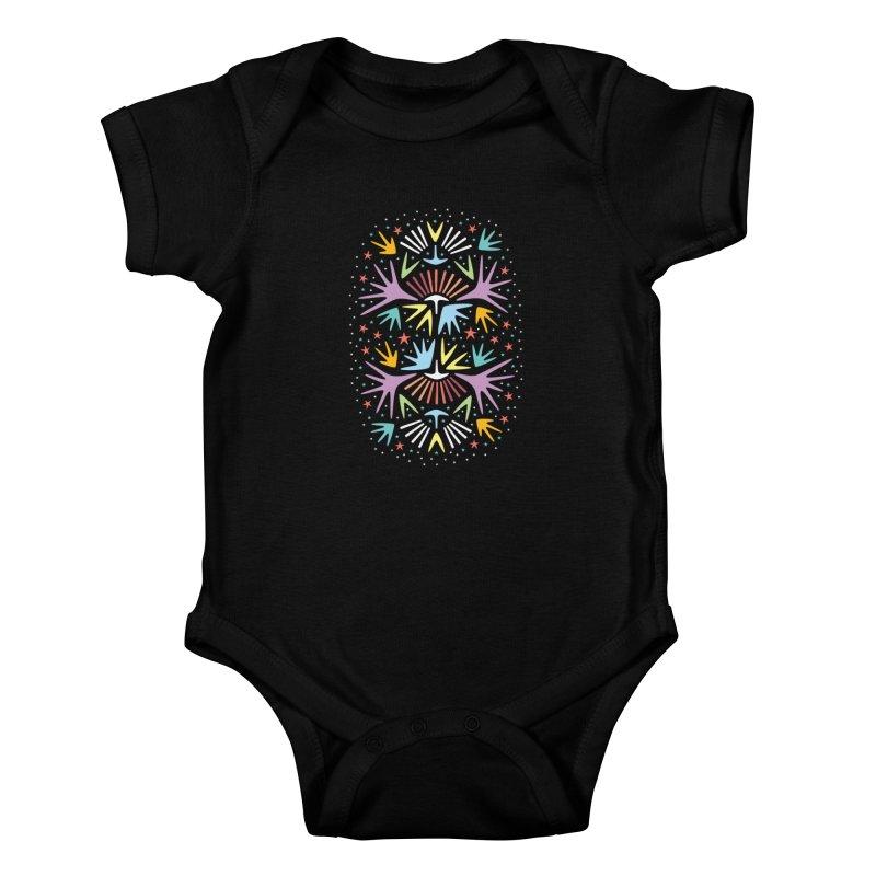 Miami Nights Kids Baby Bodysuit by Kira Seiler
