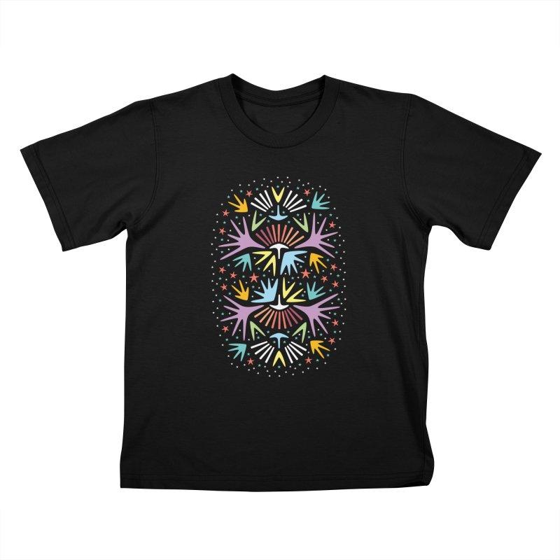Miami Nights Kids T-Shirt by Kira Seiler