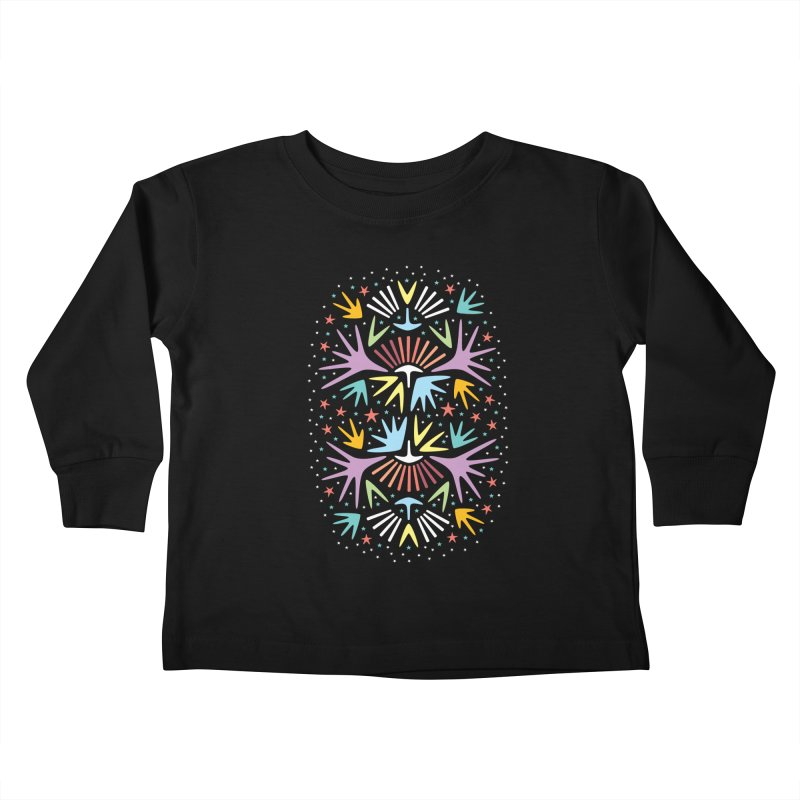 Miami Nights Kids Toddler Longsleeve T-Shirt by Kira Seiler