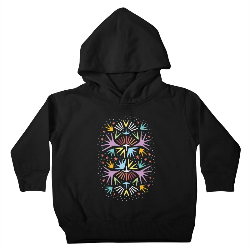Miami Nights Kids Toddler Pullover Hoody by Kira Seiler