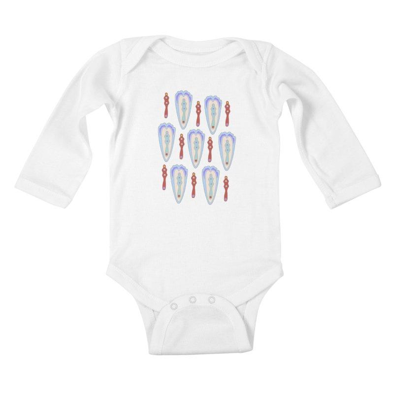 Alice 1 Kids Baby Longsleeve Bodysuit by Kira Seiler