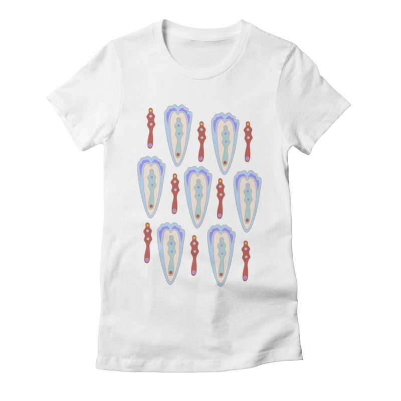 Alice 1 Women's Fitted T-Shirt by Kira Seiler