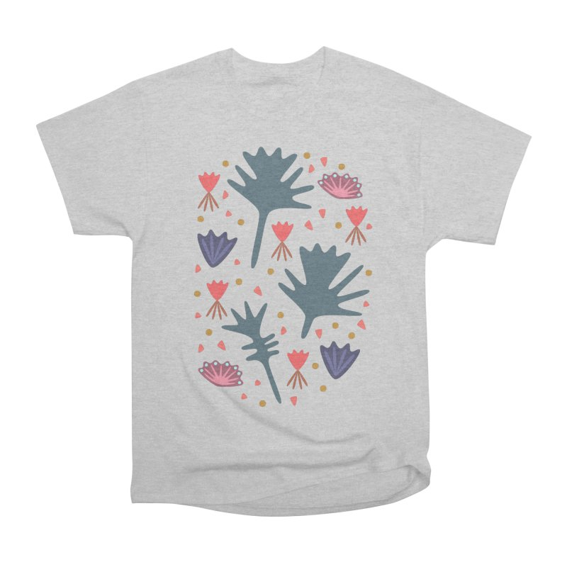Raining Roses Women's Heavyweight Unisex T-Shirt by Kira Seiler