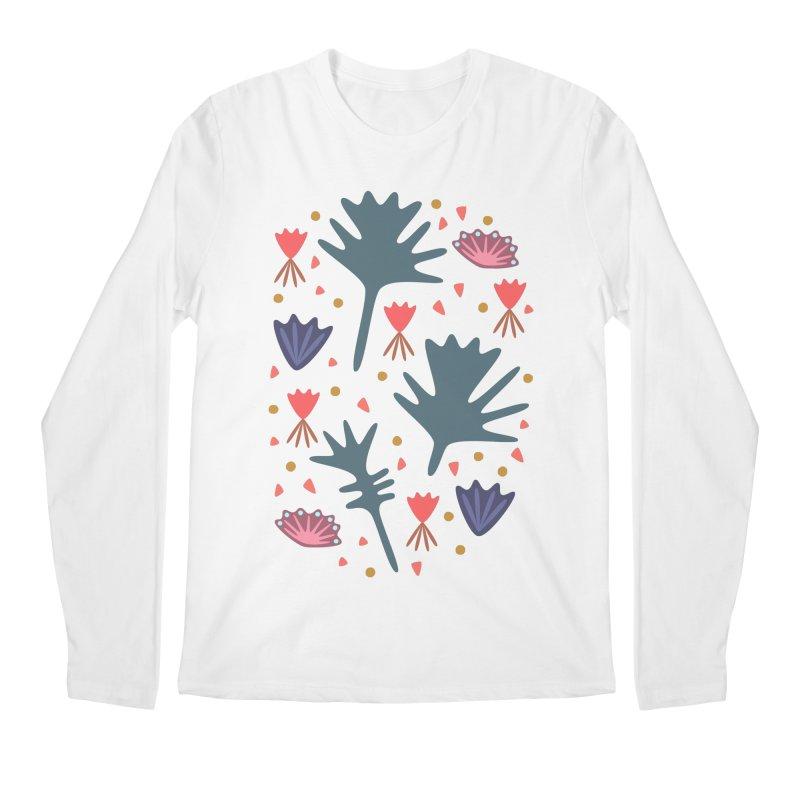 Raining Roses Men's Regular Longsleeve T-Shirt by Kira Seiler