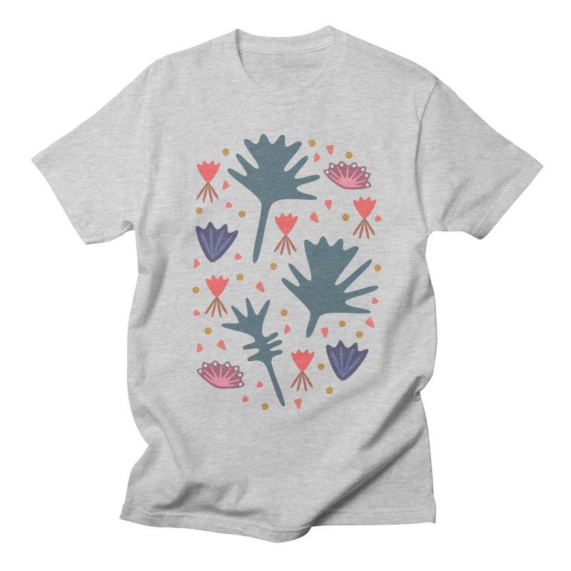 Raining Roses Men's Regular T-Shirt by Kira Seiler