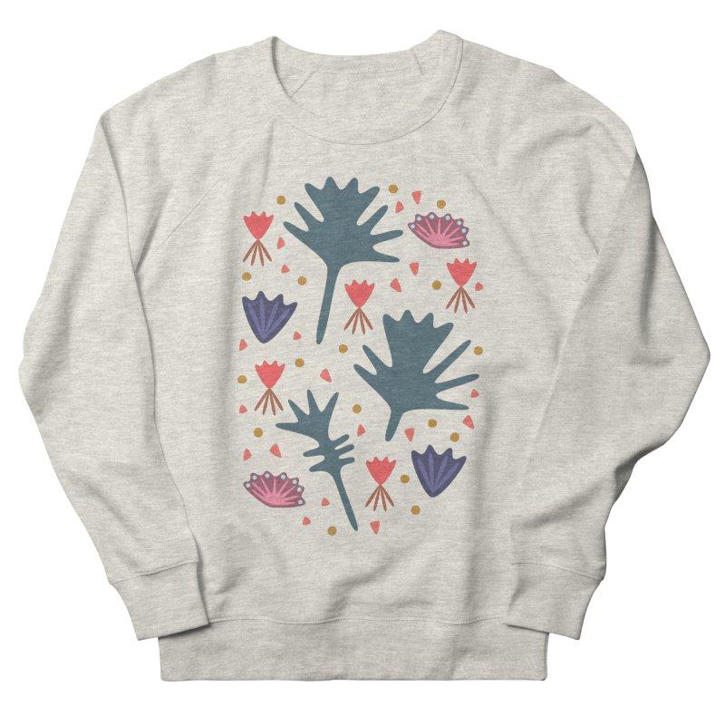 Raining Roses Women's French Terry Sweatshirt by Kira Seiler