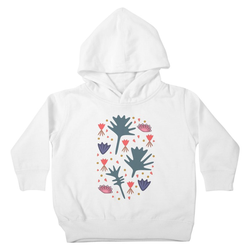 Raining Roses Kids Toddler Pullover Hoody by Kira Seiler