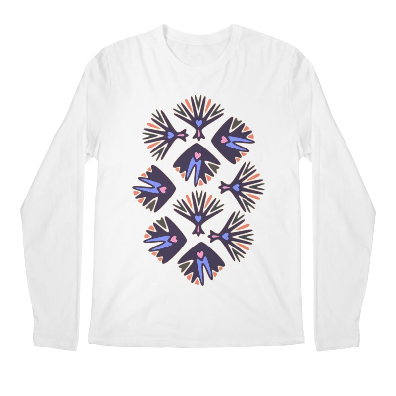 Palm Springs Men's Regular Longsleeve T-Shirt by Kira Seiler