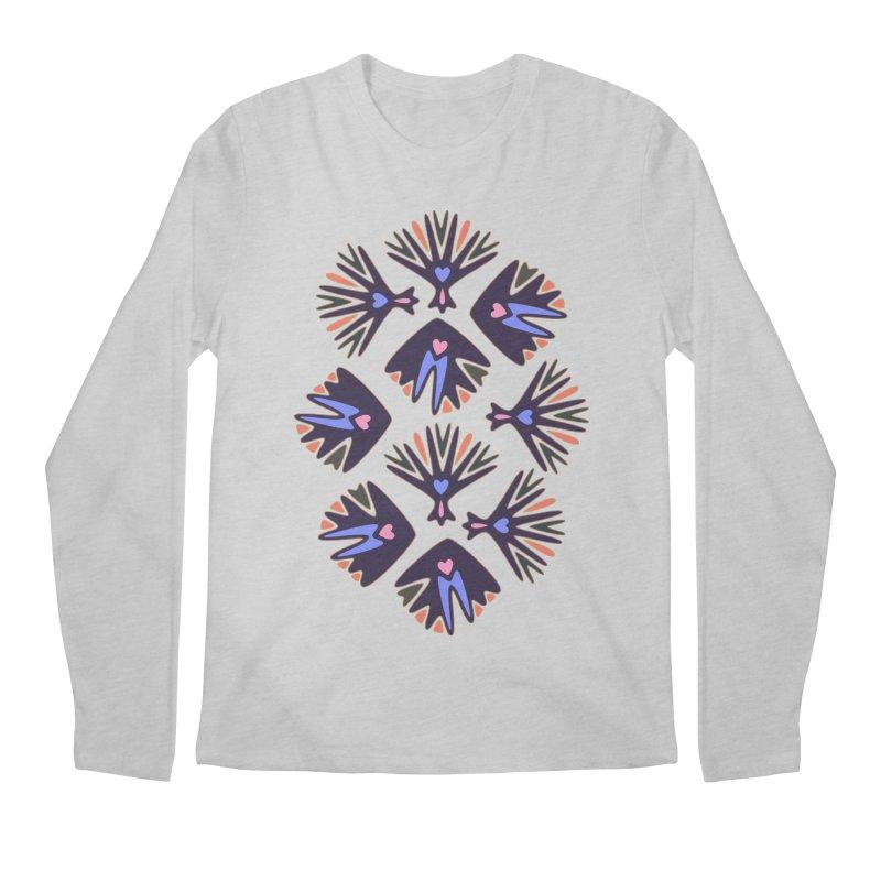 Palm Springs Men's Longsleeve T-Shirt by Kira Seiler