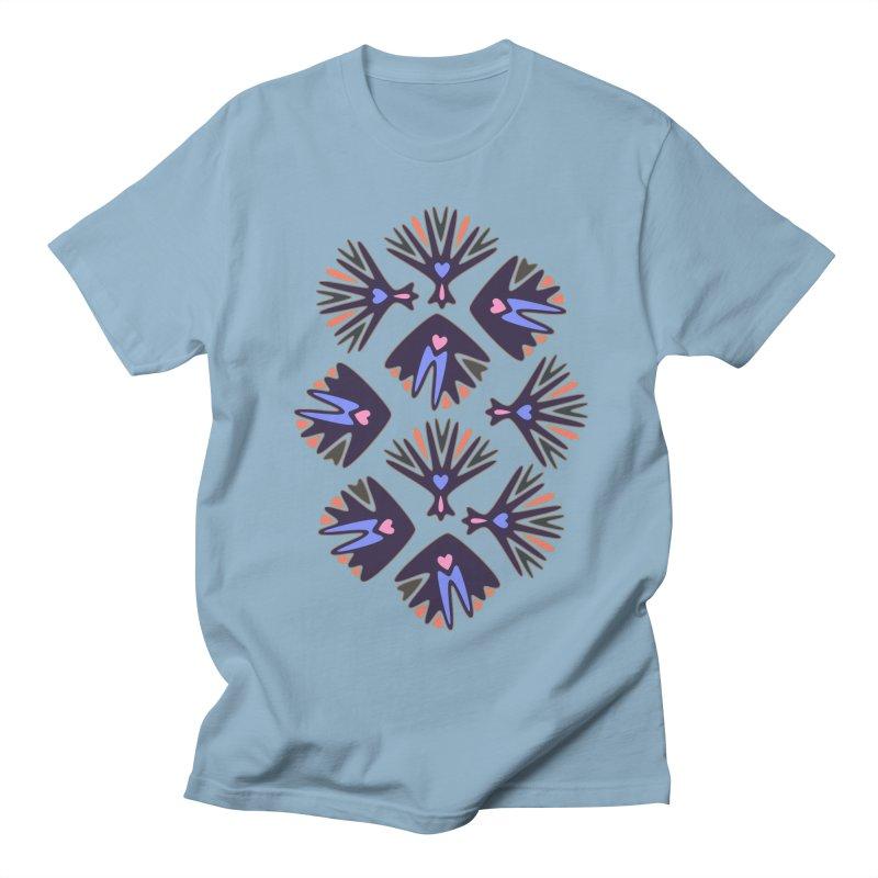 Palm Springs Men's Regular T-Shirt by Kira Seiler