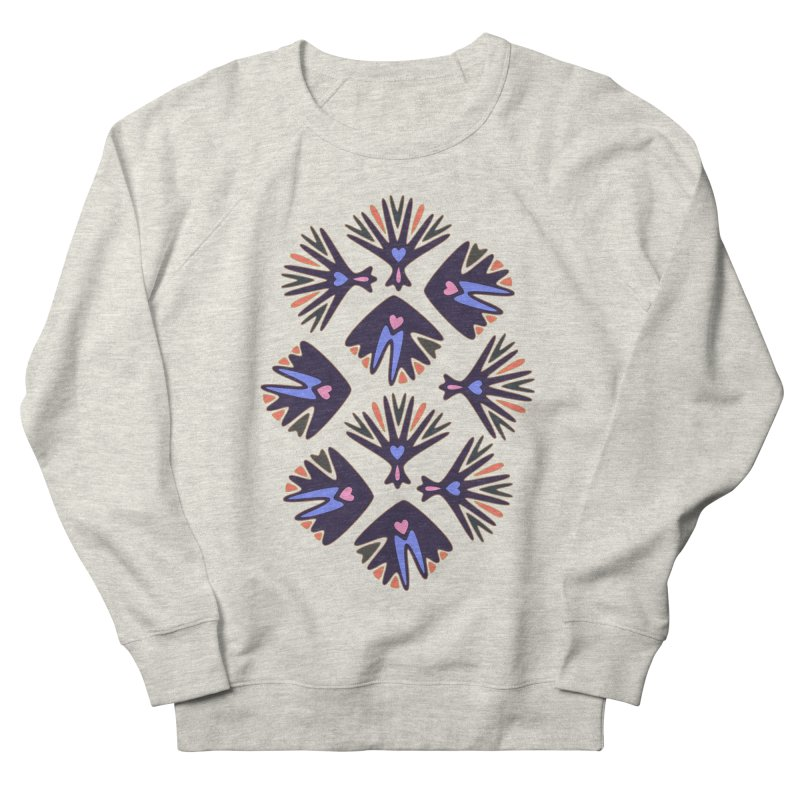 Palm Springs Women's French Terry Sweatshirt by Kira Seiler