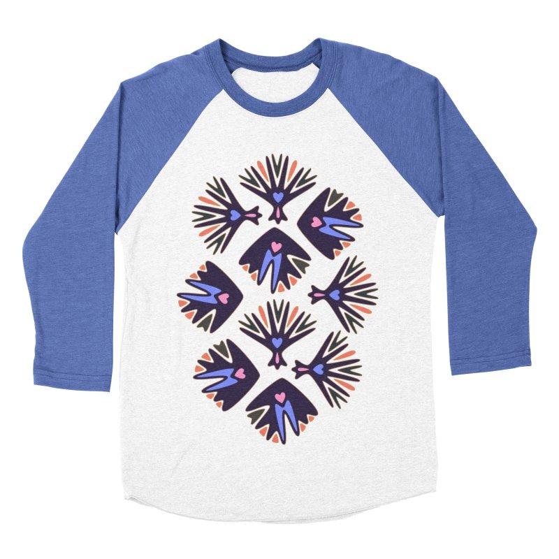 Palm Springs Men's Baseball Triblend T-Shirt by Kira Seiler