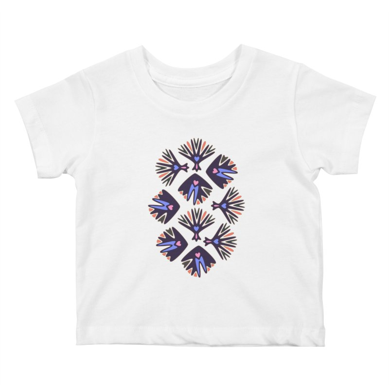 Palm Springs Kids Baby T-Shirt by Kira Seiler