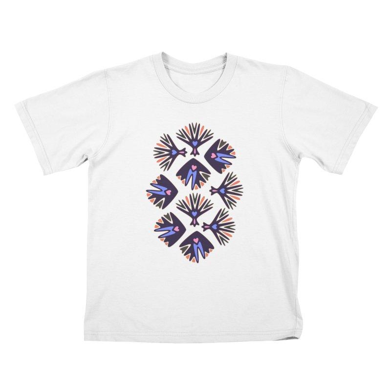 Palm Springs Kids T-Shirt by Kira Seiler