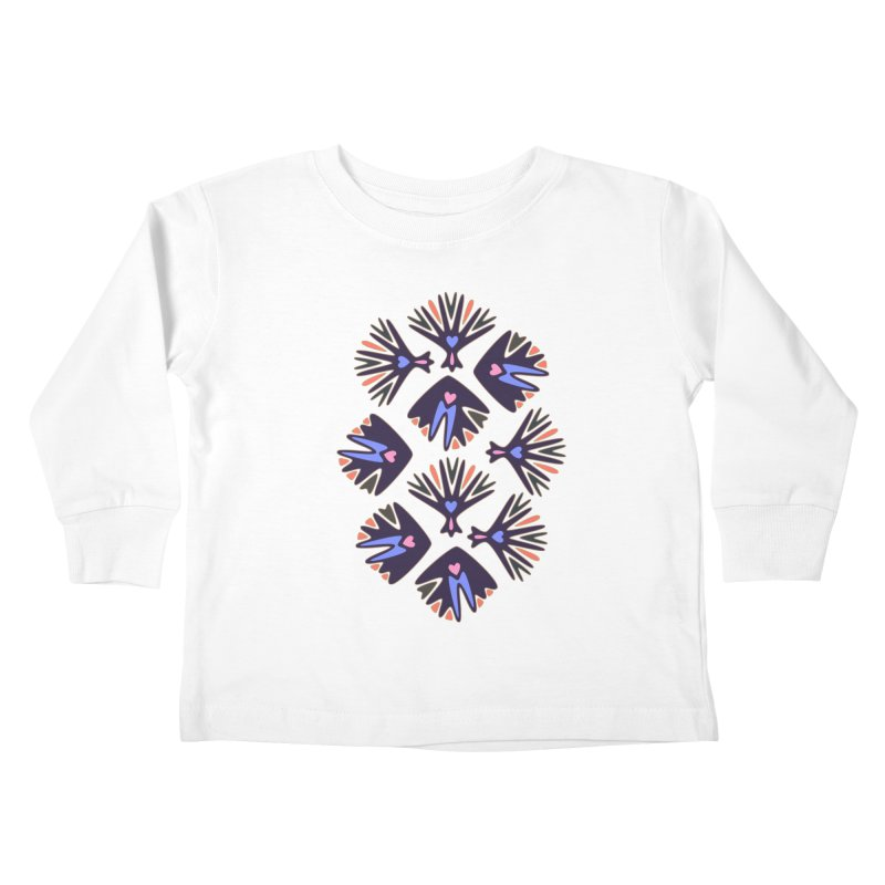 Palm Springs Kids Toddler Longsleeve T-Shirt by Kira Seiler