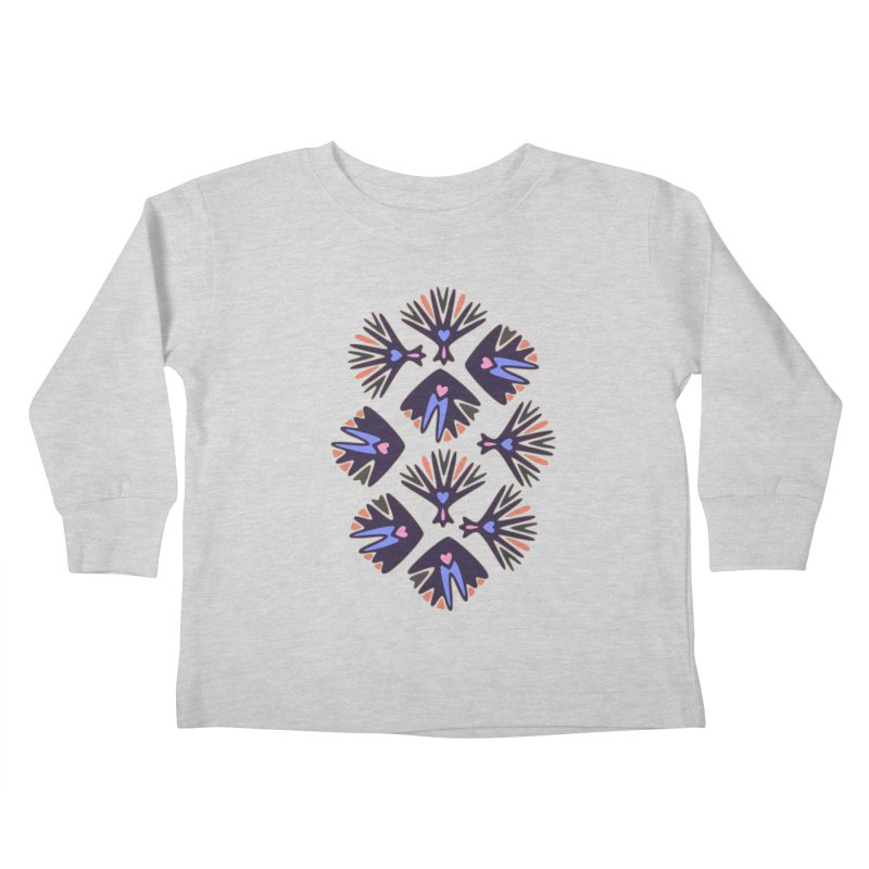 Palm Springs Kids Toddler Longsleeve T-Shirt by Kira Seiler