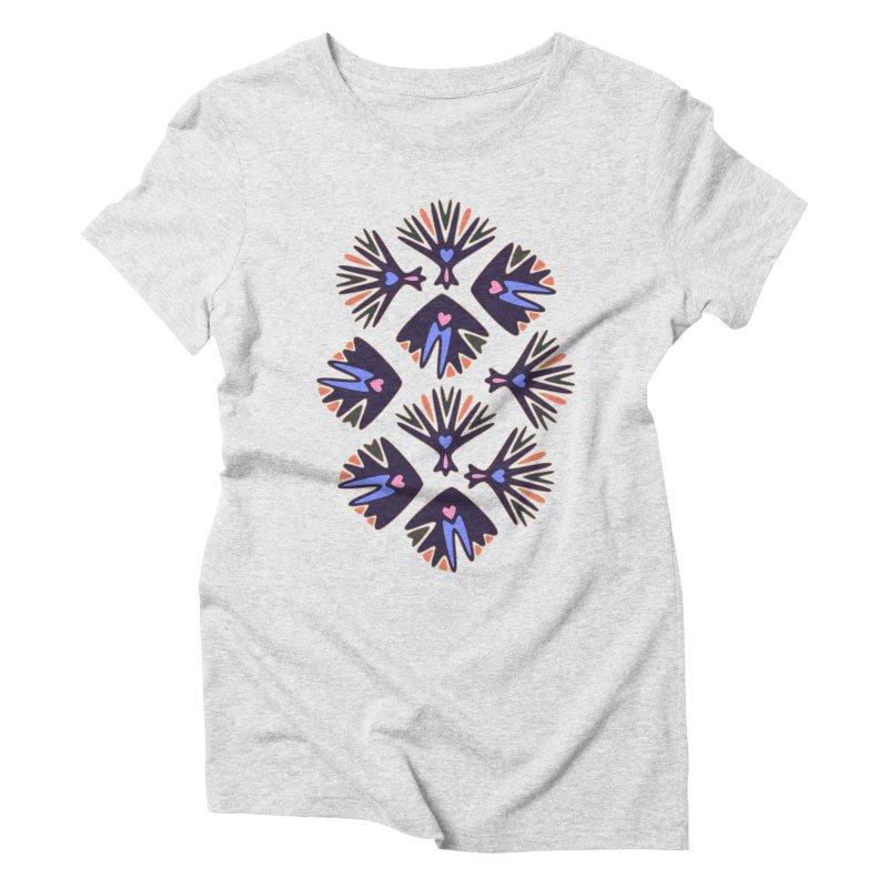 Palm Springs Women's Triblend T-Shirt by Kira Seiler