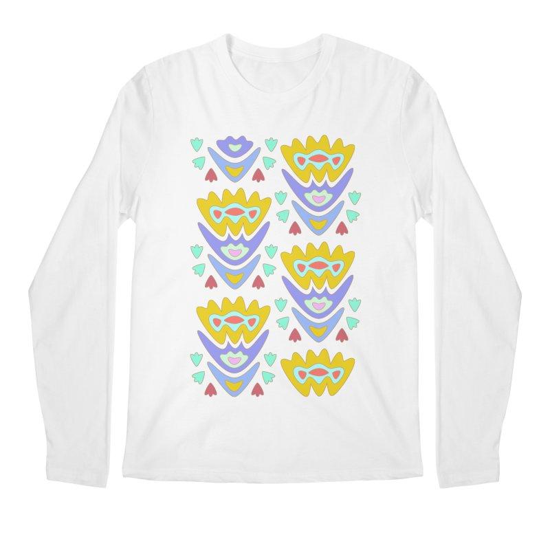 Triumph Tulips Men's Longsleeve T-Shirt by Kira Seiler