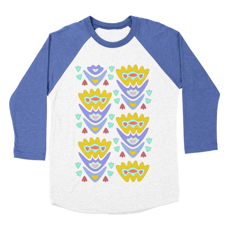 Triumph Tulips Men's Baseball Triblend T-Shirt by Kira Seiler