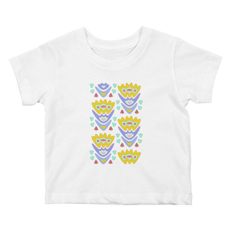 Triumph Tulips Kids Baby T-Shirt by Kira Seiler