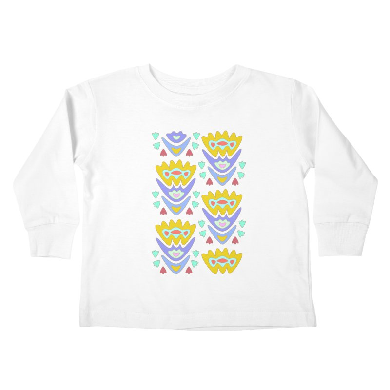 Triumph Tulips Kids Toddler Longsleeve T-Shirt by Kira Seiler