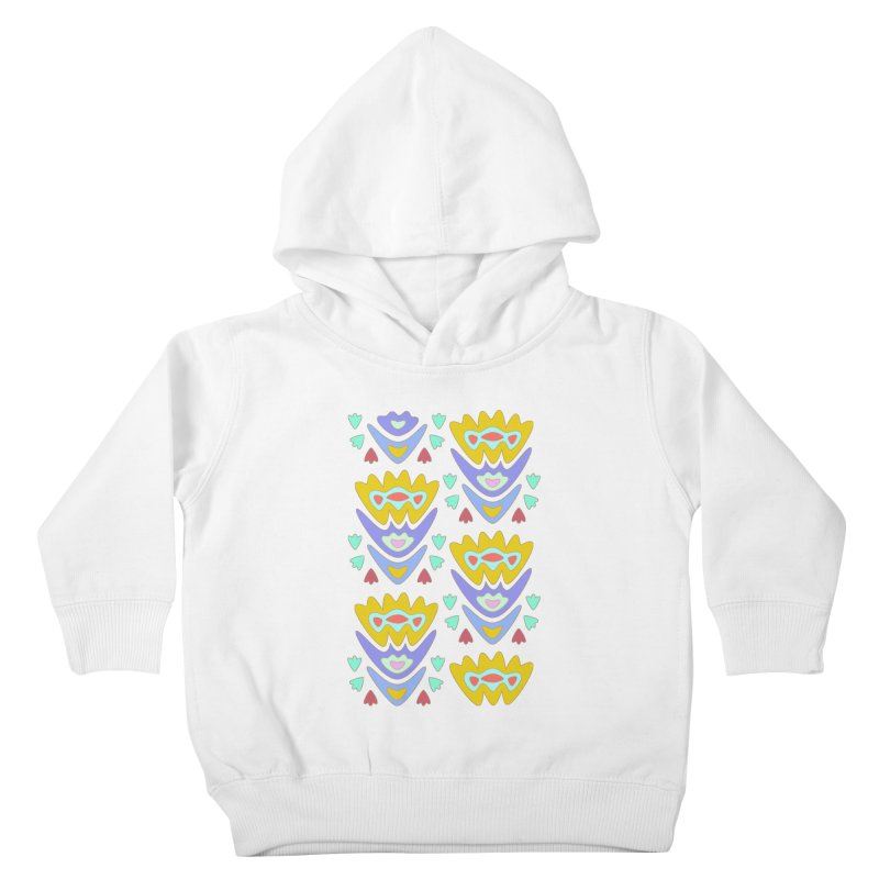 Triumph Tulips Kids Toddler Pullover Hoody by Kira Seiler