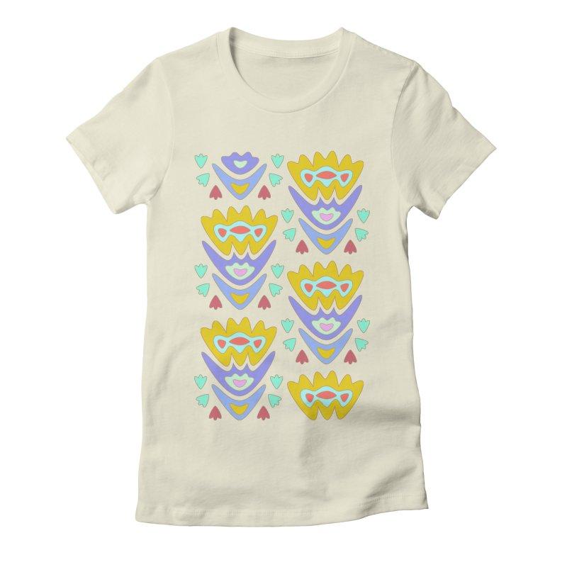 Triumph Tulips Women's Fitted T-Shirt by Kira Seiler