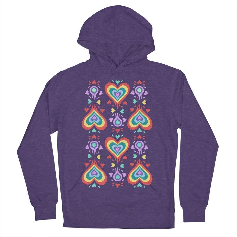 Heart of Hearts Women's Pullover Hoody by Kira Seiler
